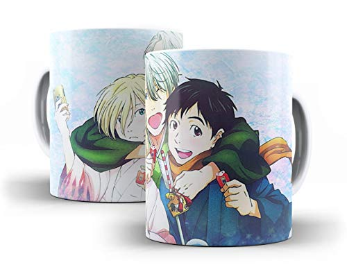 Caneca Porcelana Yuri!!! on Ice - 007359 Mimaniacos
