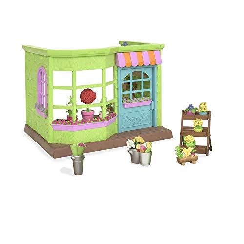 Li'L Woodzeez- Flower Shop, Small Playset (Branford Ltd. 6164Z)