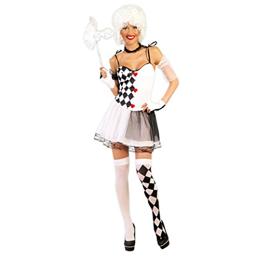 Guirca Costume Reine de cœur, Couleur, 80717