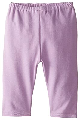 Zutano Baby-Girls Newborn Pastel Solid Pant, Orchid, 3 Months