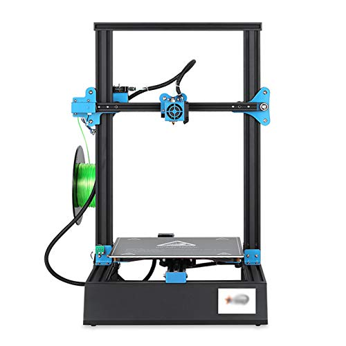 LHSJY-DP M18pro 3D Printer, Smart Leveling 3D Printer DIY Kit with Resume Printing Function High Precision Printing with ABS, PLA, TPU Print Size 300 * 300 * 400Mm