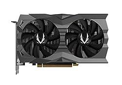 ZOTAC GAMING GeForce RTX 2060 Grafikkarte (NVIDIA RTX 2060, 6GB GDDR6, 192 Bit, Boost-Takt 1680Mhz, 14Gbps)