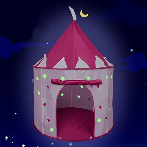 EnHoHa Princess Castle Play Tent for...