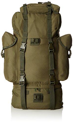 Sac A Dos Combat MILIAITRE Armee Vert Olive 65 L Miltec 14023001 Airsoft