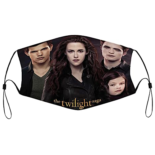 Best-design Twilight Saga Art - Funda para la boca para mujer, máscara facial reutilizable lavable, máscara lavable, máscara lavable para hombre