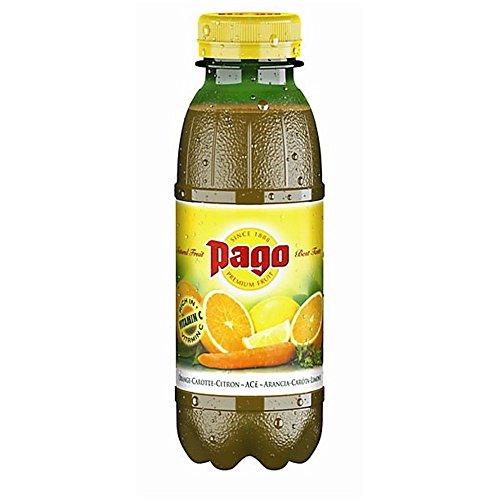 Zumo de fruta Pago naranja zanahoria limón 33 cl x12