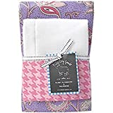Cozy Burp Cloths by Baby Dry Goods (Set of 2) - Floria
