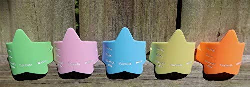 Silicone Tot Tots-The Fastest Baby Bottle Label Bands for Daycare-Reusable-Waterproof Green