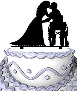 Best wheelchair wedding cake toppers Reviews