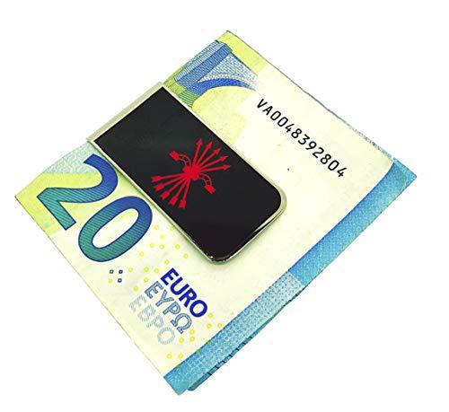 Gemelolandia | Money Clip Pinza de Billetes Falange | Pines Originales Para Regalar | Para las Camisas, la Ropa o para tu Mochila | Detalles Divertidos