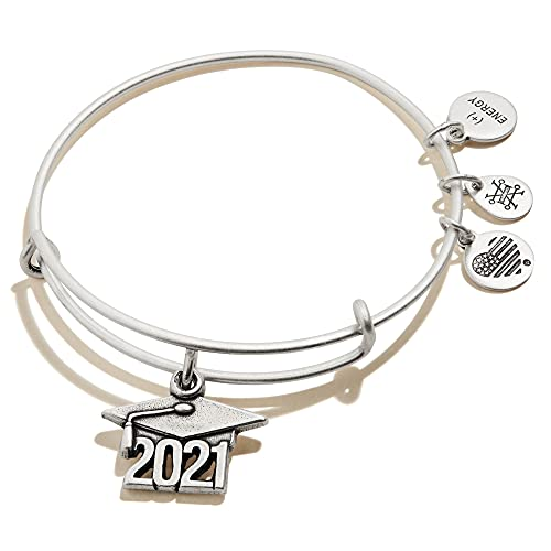 Alex and Ani Connections Expandable Bangle for Women, 2021 Graduation...