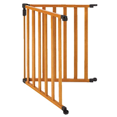 Toddleroo by North States 2 Panel Extension for 3 in 1 Wood Superyard: Adds up to 48' for an Extra Wide Baby gate or Play Yard (48' Width, Stained Wood)