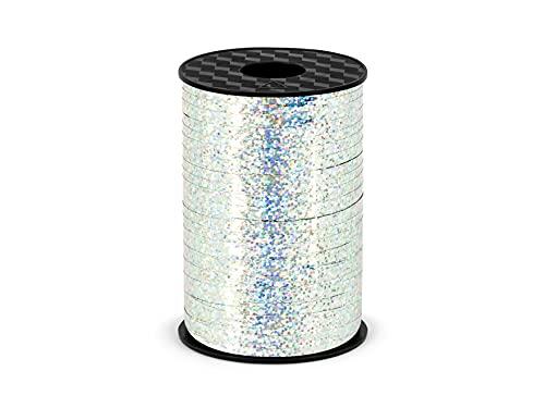 Unbekannt PRH5-018 Ruban adhésif pour Emballage Cadeau Argenté 5 mm/225 m