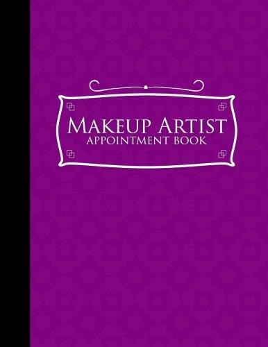 Makeup Artist Appointment Book: 7 Columns Appointment Organizer, Client Appointment Book, Scheduling Appointment Calendar, Purple Cover: 54