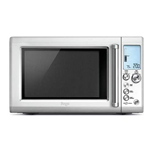 41CGmqjwIgL. SS500  - Sage BMO700BSS the Quick Touch Crisp Microwave with Smart Cook Menu - Silver