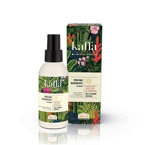 Helan Kaffa - Perfume desodorante antialcohólico en spray – 100 ml