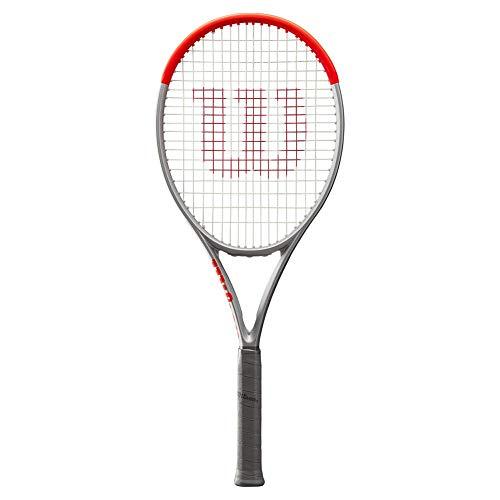 Wilson Clash 100 Pro Silver Tennis Racquet (4 1/4' Grip)