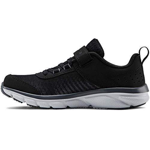 Under Armour Pre School Assert 8 Ac Zapatillas de Running Unisex Niños, Negro (Black/Pitch Gray/Mod Gray (001) 001), 30 EU (12 UK)
