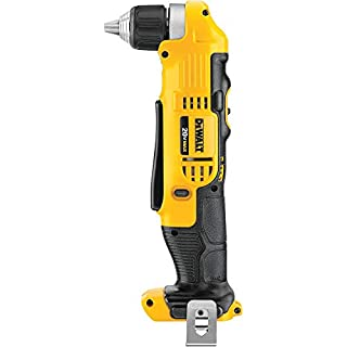"""Dewalt DCD740B 20 Volt Max Lithium Ion 3/8"""" Right Angle Drill/Driver, Tool Only, 3.6"""" x 4.5"""" x 9.5"""""""