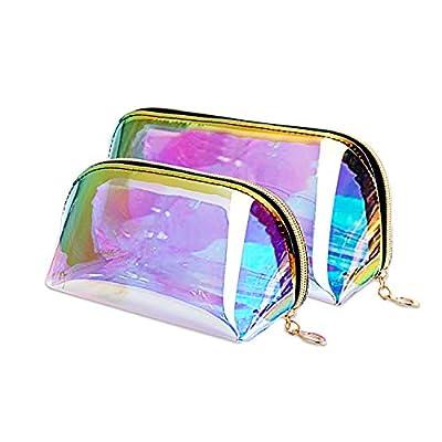 JINGMAX 2pcs Makeup Bags