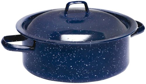 IMUSA C20666-1062810 Horno holandés esmaltado 4,5 qt, azul