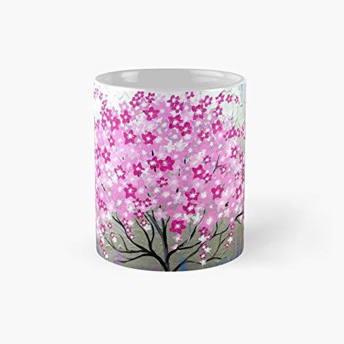 Cherry Blossom Tree Classic Mug Best Gift Funny Coffee Mugs 11 oz