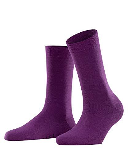 Falke Damen Socken Softmerino W SO-47488, lila (ultraviolett 8295), 37-38
