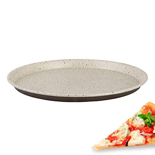 Pentalux - TEGLIA Tonda Antiaderente per Pizza Rustic Line 36 CM