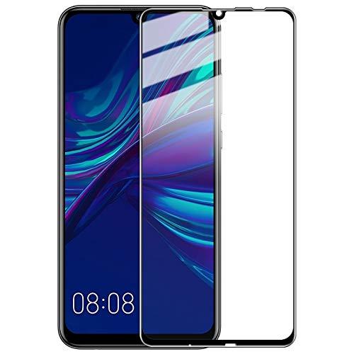 Nieuwe Tangyong CL 9H Volledig Scherm Gehard Glas Film Pro+ Versie voor Huawei P Smart+ 2019(Zwart)