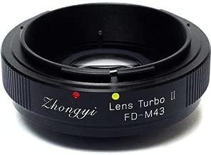 Mitakon Zhongyi Canon FD Mount Lens to Micro 4/3 Camera Turbo Mark II Adapter