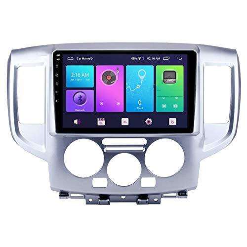 Android 10.0 Car Stereo Double Din Compatible con NISSAN NV200 2010-2018 Navegación GPS Unidad principal de 9 pulgadas Reproductor multimedia MP5 Receptor de video y radio con 4G WIFI DSP Carplay