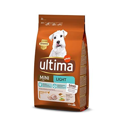petit un compact Nourriture pour chiens Ultima Dry Special Mini Light 1,5 kg