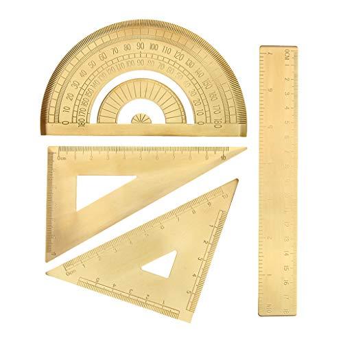 IPOTCH 4Pcs Herramienta Medidora Útil para Arquitectos, Ingenieros, Diseñadores, Estudiantes, Profesores, Artesanos