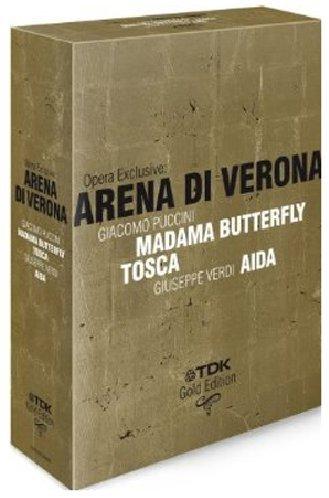 Opera Exclusive - Arena Di Verona - Puccini/Verdi [3 DVDs]