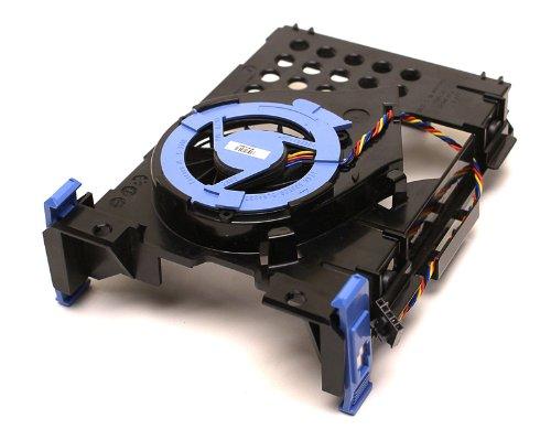 Dell Original Festplatte Gebläse Lüfter Plus Festplatte Halterung und Fan Caddy für Optiplex 760/740/745/755SFF & Dimension 5200C SFF Teilenummern: NY290, TJ160, nh645, NJ793