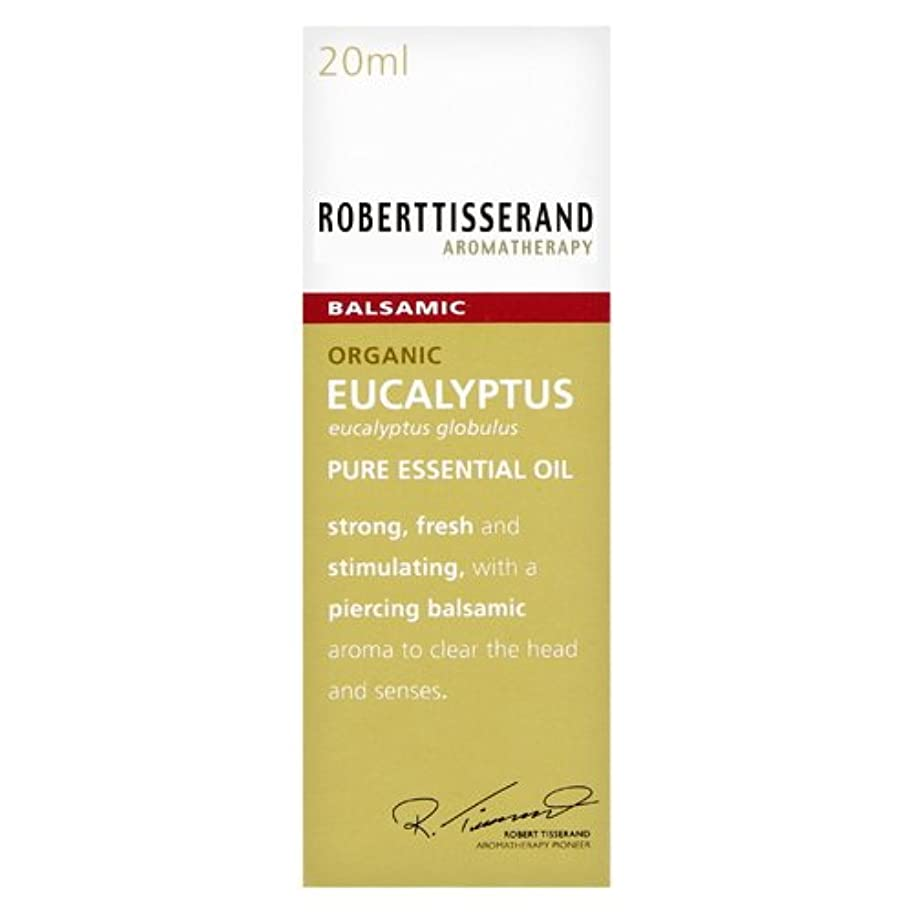 ストレスの多いゲート放射するロバートティスランド 英国土壌協会認証 オーガニック ユーカリ グロブルス 20ml