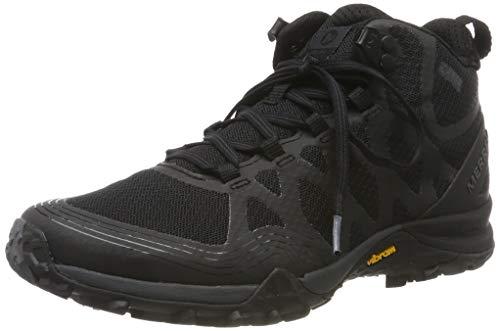 Merrell Siren 3 Mid GTX, Chaussures de Randonnée Hautes Femme, Noir (Black), 38 EU