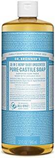 Dr Bronner Organic Baby Mild Castile Liquid Soap 946ml (Pack of 6) - のブロナーオーガニックベビーマイルドなカスティーリャ液体石鹸946ミリリットル x6 [並行輸入品]