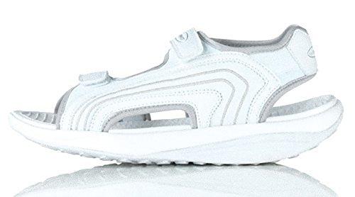Walkmaxx Fitness-Sandale für Herren (weiss, 44)