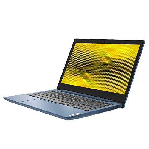 Lenovo IdeaPad Slim 1 14 Inch HD Laptop - (AMD A4, 4GB RAM, 64GB eMMC, Windows 10 Home S Mode) - Ice Blue