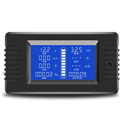 Basage PZEM-015 200 V 50A Batterie Entladungs Tester Kapazit?T Leistung Impedanz Widerstand Digital Amperemeter Voltmeter Z?Hler