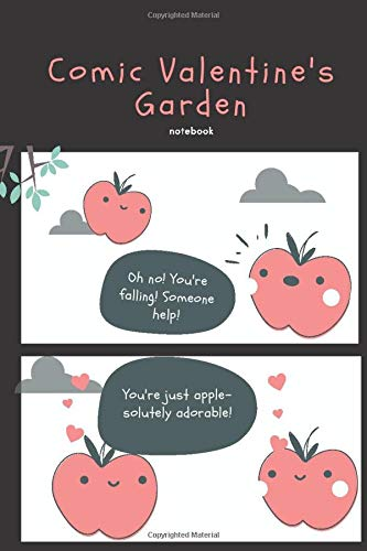 Comic Valentine's Garden: Comic Valentine's Garden Blank Comic Book for Kids with Templates : Draw Your Own Comics - Express Your Kids or Teens Talent ... Pages Comic Sketch Notebook (6x9, 120 Pages)