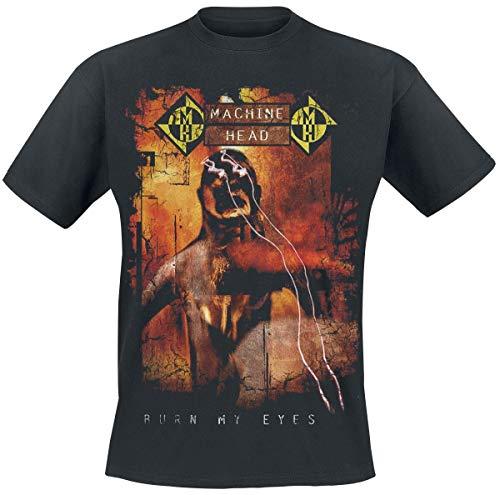 Machine Head Männer T-Shirt schwarz XL, 100% Baumwolle, Band-Merch, Bands, Nachhaltigkeit