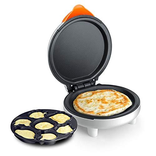 XCXDX 2 In 1 Electric Baking Pan Cake Pizza Maker Cartoon Multi-function Frying Pan