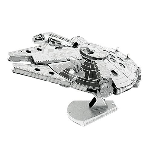 Metal Earth MMS251 - 502658 Star Wars Millenium Falcon, Konstruktionsspielzeug
