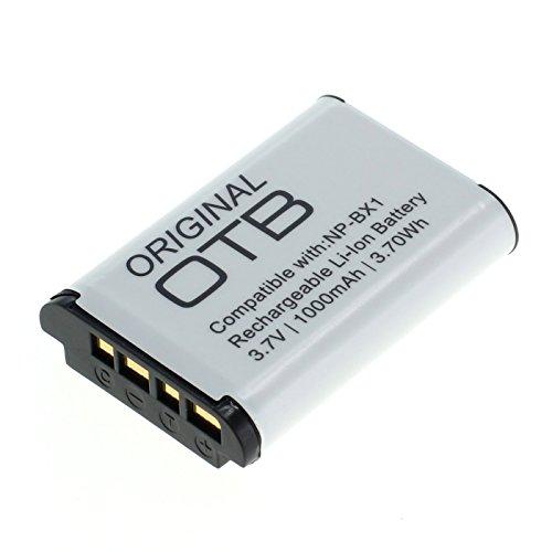 OTB Akku für Sony NP-BX1 Li-Ion Schwarz