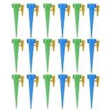 YPASDJH Válvula de riego de tubería, 18/12 / 6pcs / Set Auto Sistema de riego de riego por Goteo de riego automático de Pico for Plantas de Flor de Interior del hogar Waterers Bottl para Exterior,