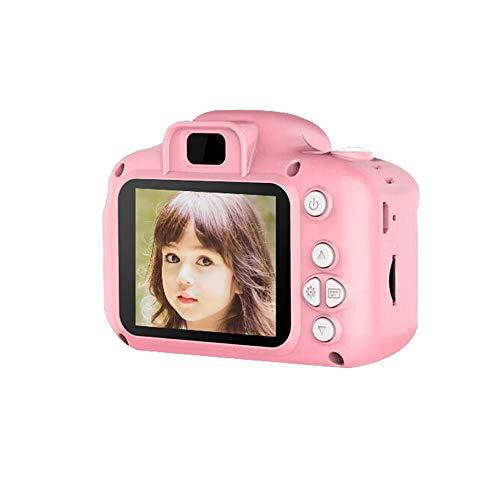 FXNB Kinderdigitalkamera, kann Mini Spielzeug Bilder Wiederaufladbare Kamera nehmen, für Kinder Baby-Geschenke Geburtstags-Geschenk Neuer Jahr-Geschenk, für Spiele im Freien,Rosa