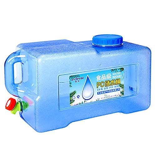 Contenedor De Agua Cubo de coche viaja al aire libre tanque portátil en coche tiene capacidad for vehículo polivalente con un tanque de almacenamiento de agua pura gruesa Senderismo Camping Picnic Tra