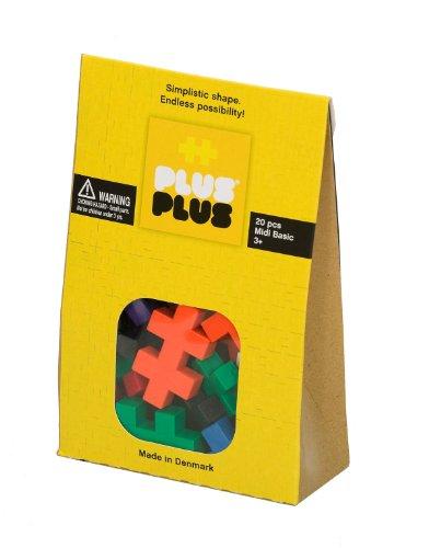Plus-Plus - Puzzle Midi Basic, 20 Piezas (3202)